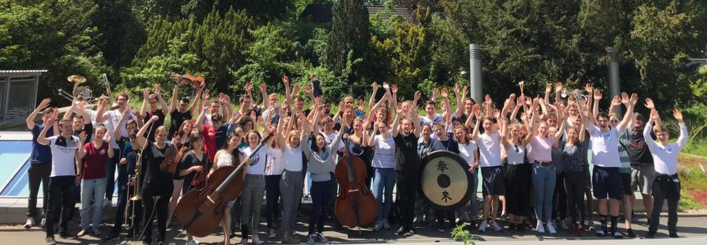 Gruppenfoto in Rendsburg (Sommer 2019)